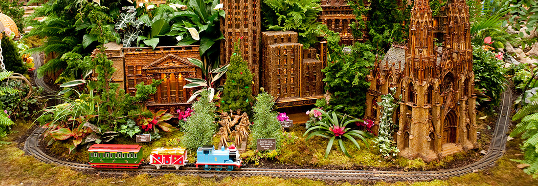 Holiday fun guide things to do in westchester with kids Botanical garden train show